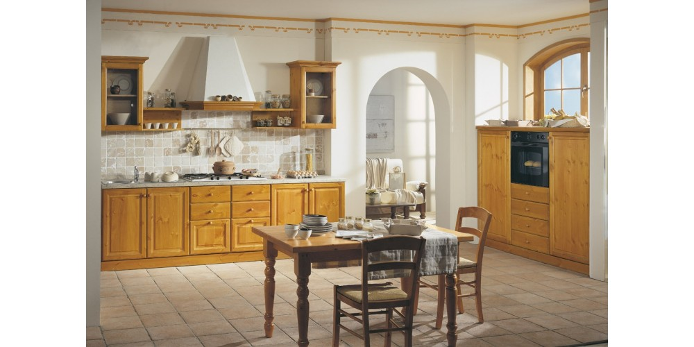 Miele Cucine Componibili.Cucina Componibile Pino Rsarredamenti Shop
