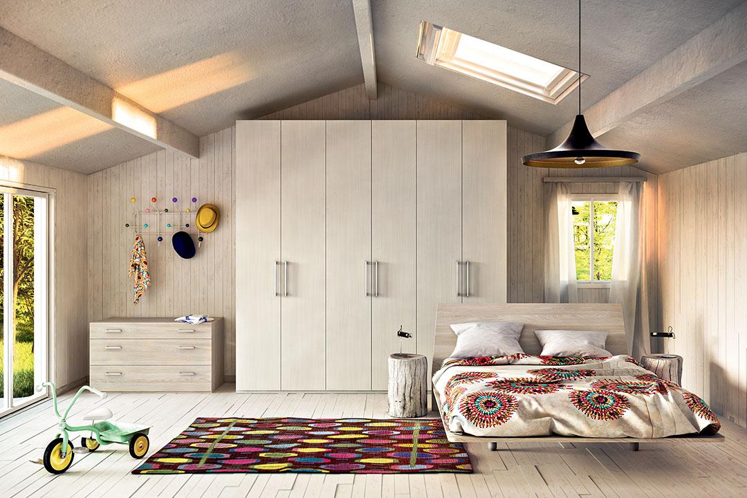 Camera da letto matrimonial e per ragazzi-RS Arredamenti Domodossola