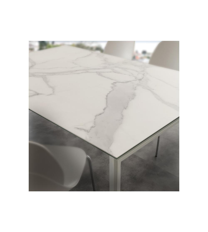 Tavolo in ceramica resistente ai tagli e Sedie-RS Arredamenti Shop